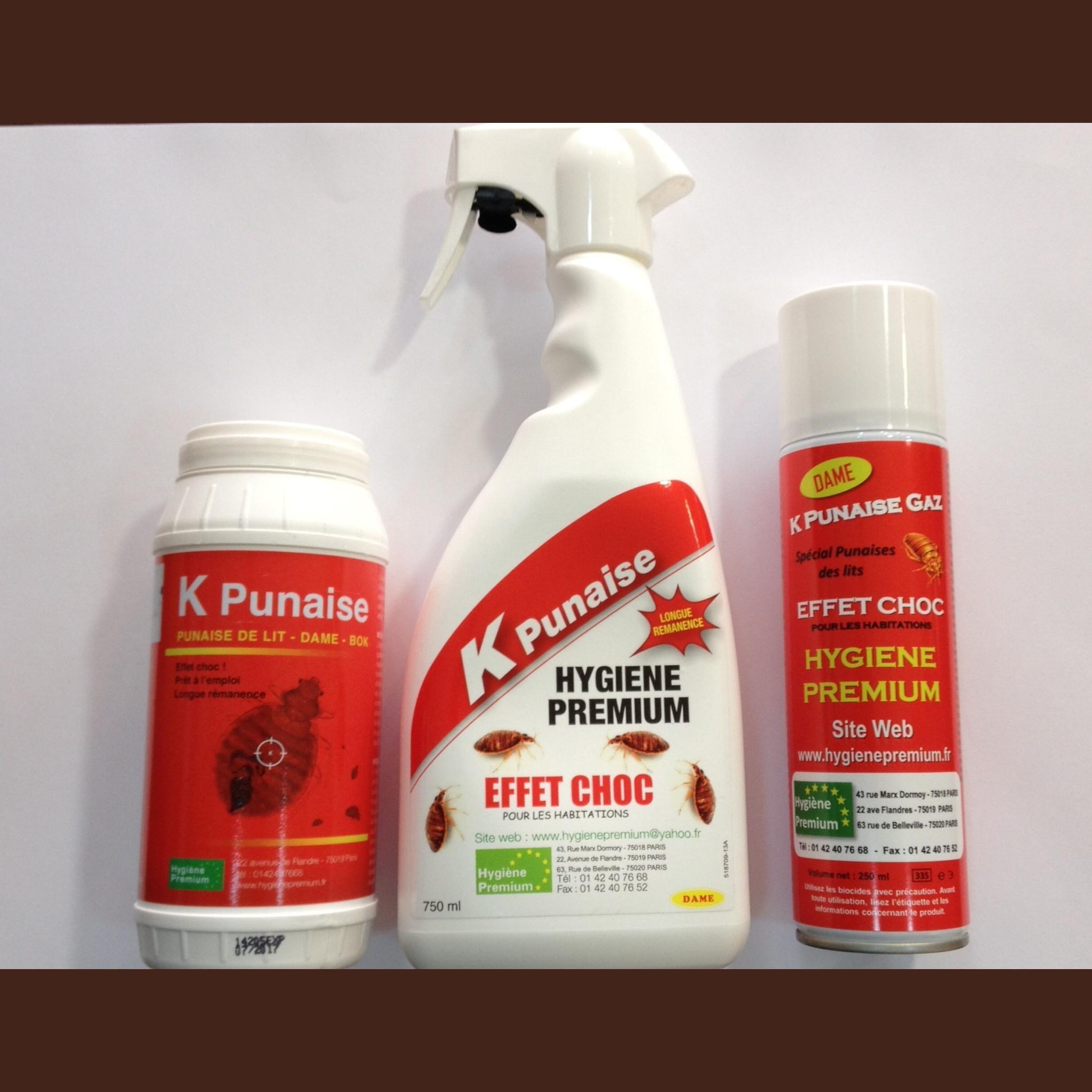 Kit punaises de lit hygiene premium - Punaise de lit traitement professionnel ...